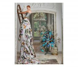 Afbeelding van product: Essenza Fleur dekbedovertrek bloemen div. afmetingen katoen grijs 140x220 cm