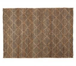 Afbeelding van product: Medina vloerkleed XL 290x200 cm jute/katoen bruin