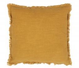 Afbeelding van product: BePureHome Tassel kussen 45x45 cm katoen mosterd