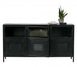 Afbeelding van product: WOOOD Ronja dressoir metaal zwart