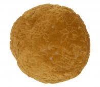 BePureHome Graceful kussen velvet ø45 cm mosterd