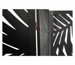 Afbeelding van product: WOOOD Harper kamerscherm hout zwart