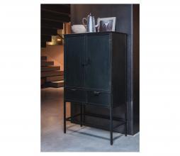 Afbeelding van product: BePureHome Wish 2-deurs kast metaal zwart