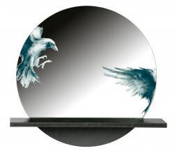 Afbeelding van product: BePureHome Raven spiegel metaal zwart