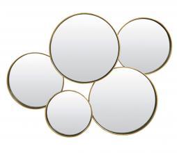 Afbeelding van product: Selected by Sianna spiegel metaal antiek goud