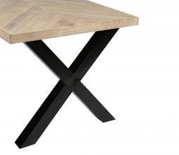 Afbeelding van product: WOOOD Tablo tafelpoot Alkmaar metaal zwart