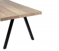 Afbeelding van product: WOOOD Tablo 2-standen tafelpoot vierkant metaal zwart
