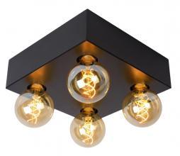 Afbeelding van product: Surtus plafonnière metaal zwart