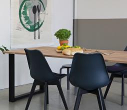 Afbeelding van product: WOOOD Tablo boomstam tafelblad eiken, div afmetingen 220x90 cm