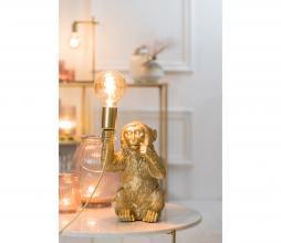 Afbeelding van product: Selected by Monkey tafellamp h42 cm goud