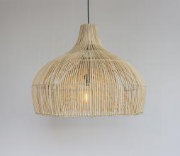 Afbeelding van product: Selected by Maggie lampenkap rotan naturel, div. afmetingen S: Ø 55 cm
