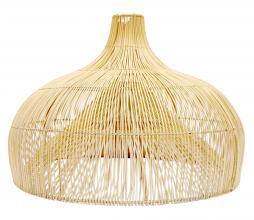 Afbeelding van product: Selected by Maggie lampenkap rotan naturel, div. afmetingen XL: Ø 85 cm