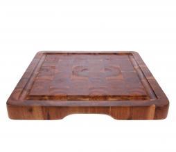Afbeelding van product: HKLiving Snijplank vierkant acacia bruin