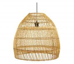 Afbeelding van product: Selected by Yara lampenkap rotan naturel, div afmetingen S: Ø 48 CM