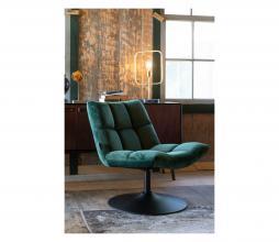 Afbeelding van product: Dutchbone Bar loungefauteuil velvet groen