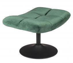 Afbeelding van product: Dutchbone Bar hocker op draaivoet velvet groen