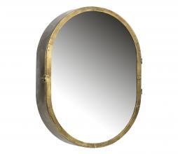 Afbeelding van product: BePureHome Unfold spiegelkast metaal antique brass
