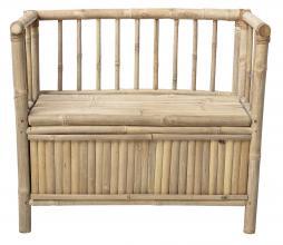 Afbeelding van product: Selected by kinder- opbergbankje bamboe naturel