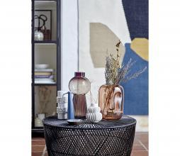 Afbeelding van product: Selected by vaas aardewerk  Ø11,5xH14 cm wit
