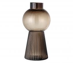 Afbeelding van product: Selected by vaas glas Ø17xH33,5 cm bruin