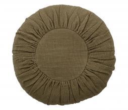 Afbeelding van product: Selected by kussen katoen Ø45 cm groen