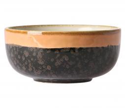 Afbeelding van product: HKliving Lava schaaltje keramiek beige/zwart
