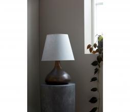 Afbeelding van product: Housedoctor Diya lampenvoet aardewerk bruin