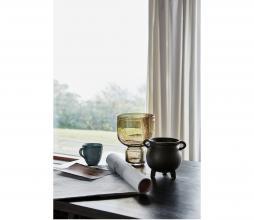 Afbeelding van product: House Doctor Farida vaas glas bruin