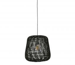 Afbeelding van product: WOOOD Exclusive Moza hanglamp Ø36 cm bamboe zwart
