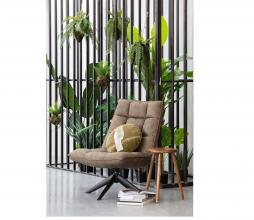 Afbeelding van product: WOOOD Exclusive Coco kussen ø45 cm velvet leaf