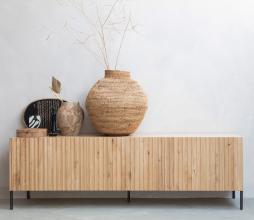 Afbeelding van product: WOOOD Exclusive Gravure tv meubel eiken naturel