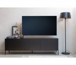 Afbeelding van product: WOOOD Exclusive Gravure tv meubel grenen zwart