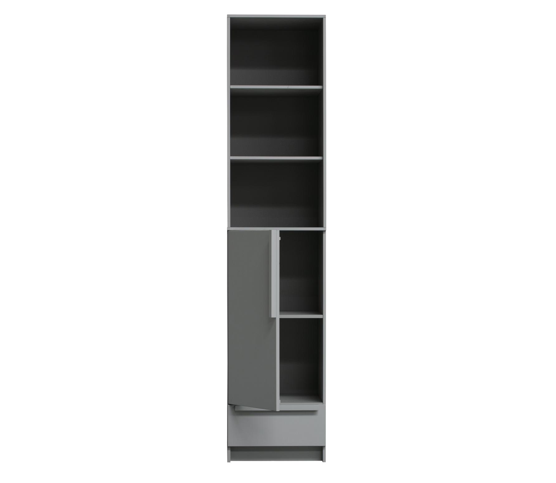 Boekenkast Tipi betongrijs kopen? buffet vitrinekasten   Karwei