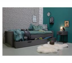 Afbeelding van product: WOOOD Morris bed 90x200 cm grenen leem