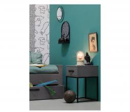 Afbeelding van product: WOOOD Morris nachtkastje met lade grenen leem