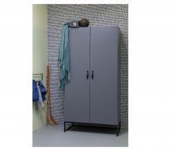 Afbeelding van product: WOOOD Morris kast 195x100x53 cm grenen leem