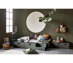 Afbeelding van product: vtwonen Stage bed incl. lades 80x200 cm grenen soap