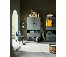 Afbeelding van product: vtwonen Stage garderobekast 185x103x40 cm grenen soap