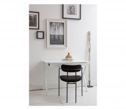 Afbeelding van product: WOOOD Exclusive Ivy eetkamerstoel velvet zwart