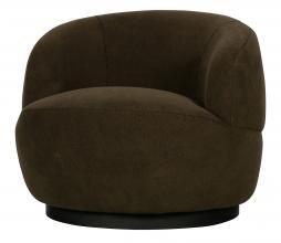Afbeelding van product: BePureHome Woolly draaifauteuil schapenvacht groen