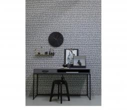 Afbeelding van product: WOOOD Exclusive Valentino wandklok hout zwart