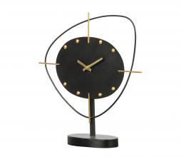 Afbeelding van product: BePureHome One o'clock staande klok metaal zwart