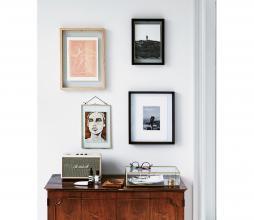 Afbeelding van product: vtwonen fotolijst naturel hout, div. afmetingen A4 (28x40cm)