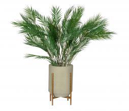 Afbeelding van product: WOOOD Exclusive Juul plantenpot betongrijs