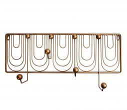 Afbeelding van product: BePureHome Ornamental kapstok metaal antique brass