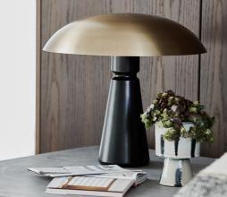 Afbeelding van product: Housedoctor Thane tafellamp metaal zwart brass