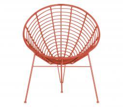 Afbeelding van product: WOOOD Jane (binnen-buiten) stoel rotan melon