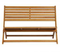 Afbeelding van product: WOOOD Exclusive Lois bankje (binnen-buiten) hout naturel