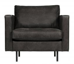 Afbeelding van product: BePureHome Rodeo Classic fauteuil recycle leer zwart