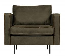 Afbeelding van product: BePureHome Rodeo Classic fauteuil recycle leer army army